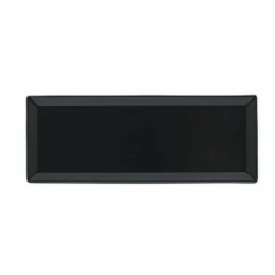 BASICO Półmisek prostokątny czarny 35x14 cm