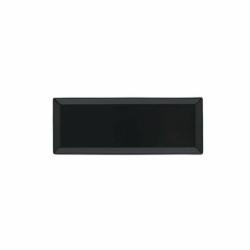 BASICO Półmisek prostokątny czarny 28 x 10 cm