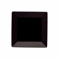 BASICO Talerz deserowy kwadratowy czarny 19 cm