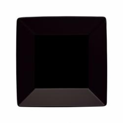 BASICO Talerz głęboki kwadratowy czarny 22 cm