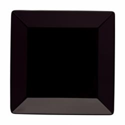 BASICO Talerz płaski kwadratowy czarny 28 cm
