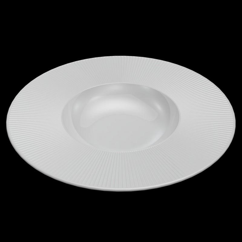 RAIO Talerz do pasty z szerokim  rantem 29 cm