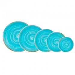 Rustico Blue Talerz płaski