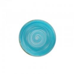 Rustico Blue kolekcja porcelany, Talerz głęboki