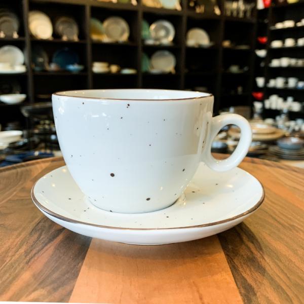 DOTS WHITE Filiżanka do cappuccino 350 ml