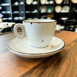 DOTS WHITE Filiżanka do espresso 70 ml