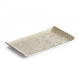 LIVELLI Półmisek prostokątny beżowy 26x15 cm
