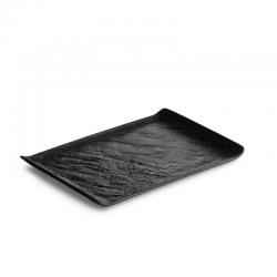 LIVELLI Półmisek prostokątny czarny 30x21 cm