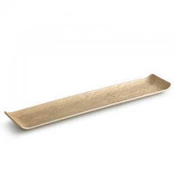LIVELLI Polmisek prostokatny bezowy 46x10 cm