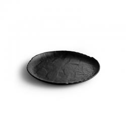 LIVELLI Talerz płaski czarny 26 cm