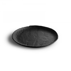 LIVELLI Talerz płaski czarny 29 cm