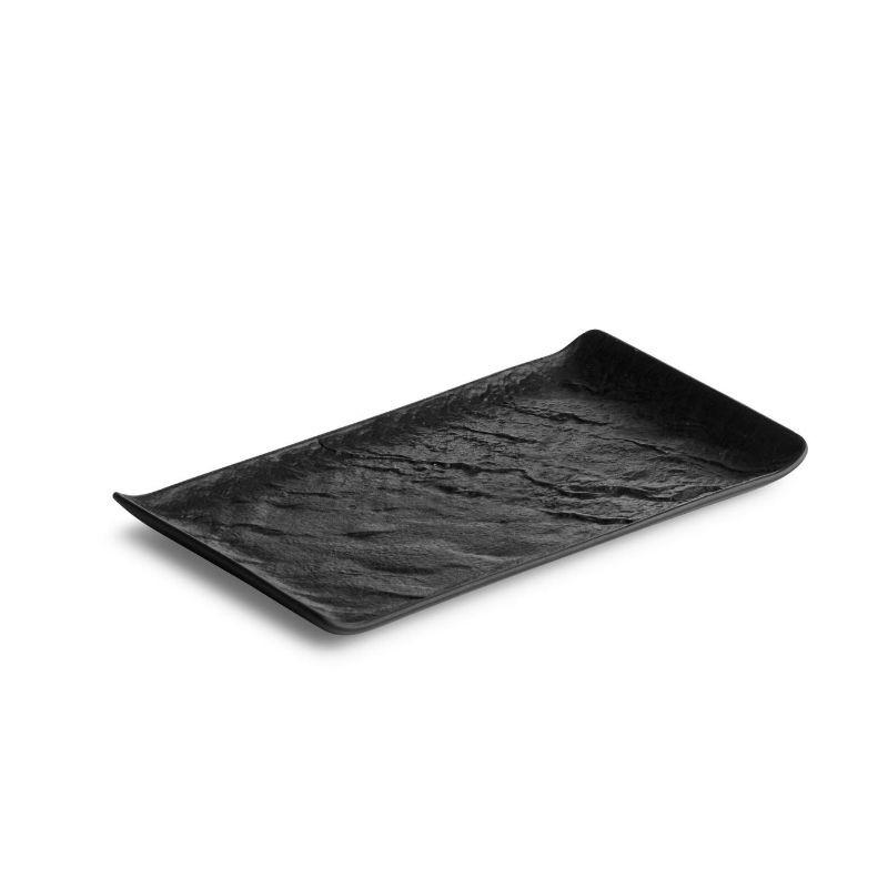 LIVELLI BLACK Półmisek prostokątny 26x15 cm