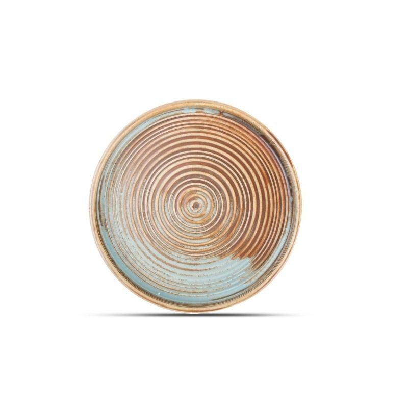 ESCURA Talerz płaski z pionowym rantem 17,5 cm