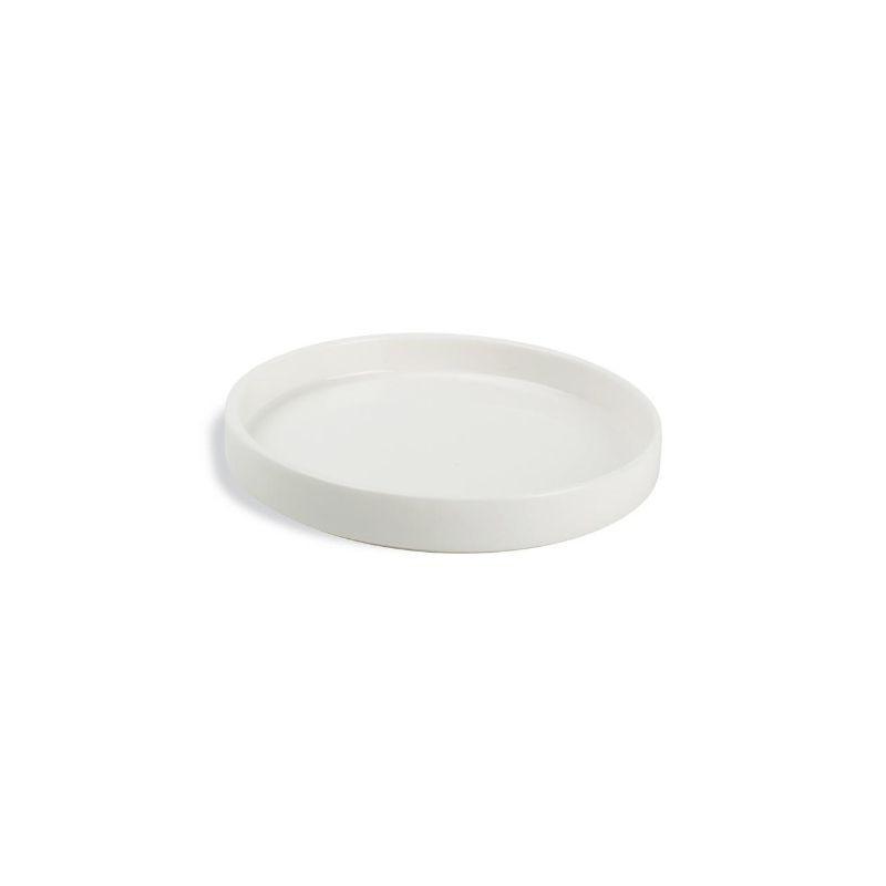 CHIC VERSO WHITE Talerz płaski sztaplowany 14 cm