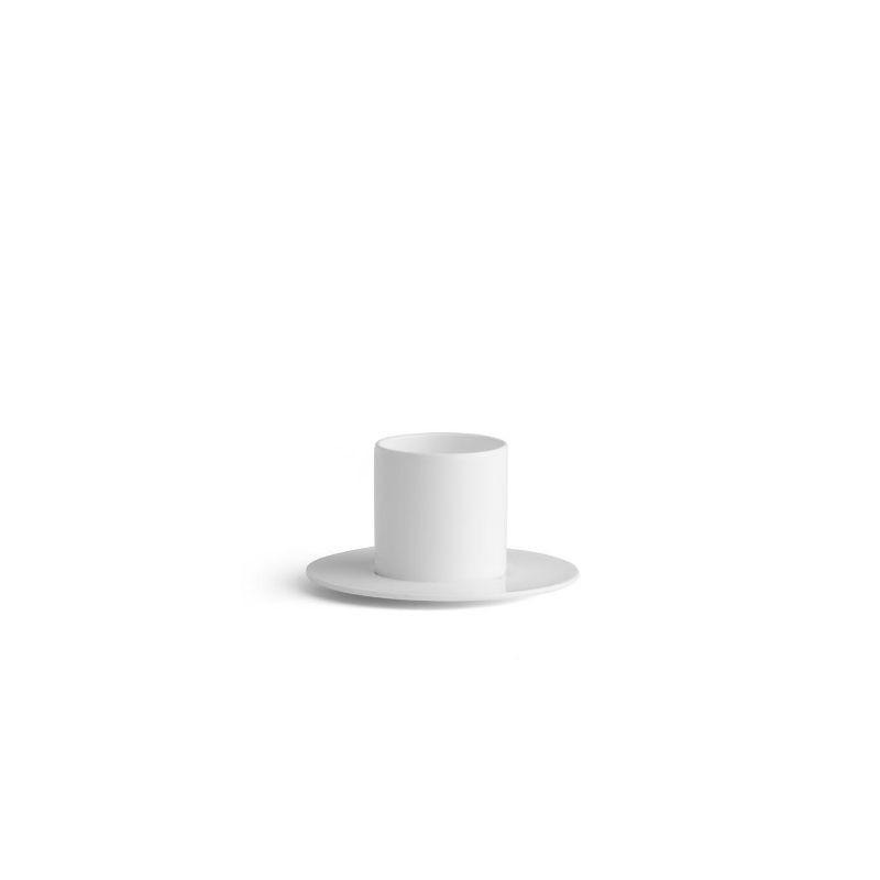 CHIC VERSO WHITE Filiżanka ze spodkiem 5 cm
