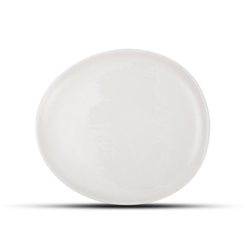 F2D CERES WHITE Talerz płaski 21x18 cm