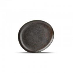 F2D CERES BLACK Talerz płaski 21 cm