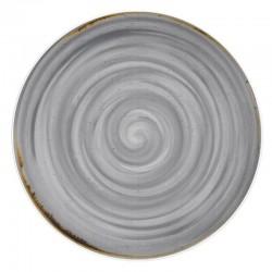 RUSTICO GREY Talerz płaski 32 cm