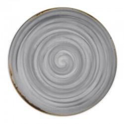RUSTICO GREY Talerz płaski 28 cm