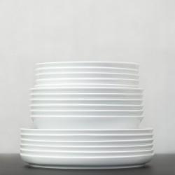 NORDIKA Zestaw porcelany - 6 os.