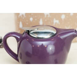 Zestaw świąteczny - Dzbanek do herbaty 0,75l fioletowy