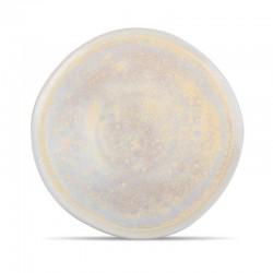 GOLD GLISTER COUPE Talerz płaski 28 cm