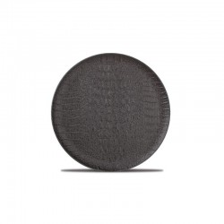 CROCO BLACK Talerz płaski 21 cm