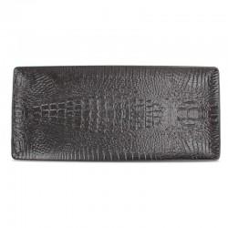 F2D CROCO BLACK Półmisek prostokątny 34x15 cm