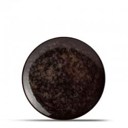BB HAZY BLACK Talerz płaski 20 cm
