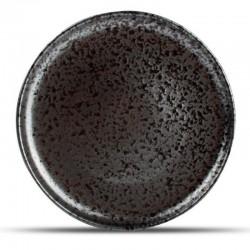F2D OXIDO BLACK Talerz płaski 28,5 cm