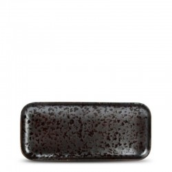 F2D OXIDO BLACK Półmisek prostokątny 22x10 cm
