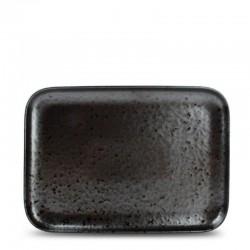 F2D OXIDO BLACK Półmisek prostokątny 28x20 cm