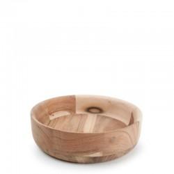 W&F FUENTE ACACIA Miska drewniana 22 cm