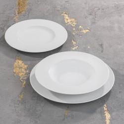 SATURNO Komplet porcelany dla 6 osób x 3 elementy