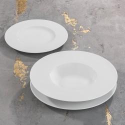 SATURNO Komplet porcelany dla 4 osób