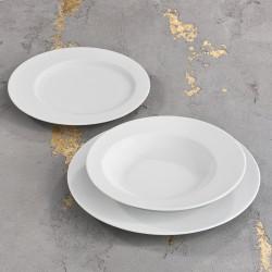 ECLIPSE Komplet porcelany dla 6 osób x 3 elementy