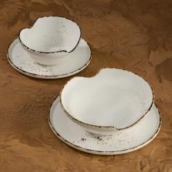 UMBRA Komplet porcelany dla 4 osób x 4 elementy