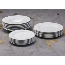 RAIO Komplet porcelany dla 6 osób x 3 elementy