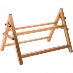 UTOPIA Dwupoziomowy stojak drewniany
