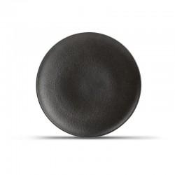 DUSK BLACK Talerz płaski 21 cm