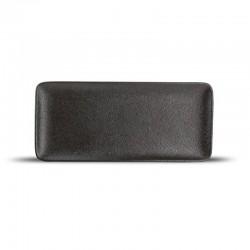 DUSK BLACK Talerz płaski 22x10 cm