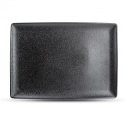 DUSK BLACK Półmisek prostokątny 28x20 cm