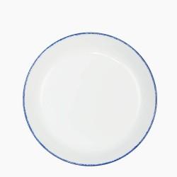 CORAL BLUE Talerz głęboki 24 cm