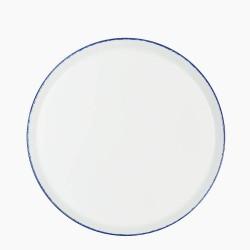 CORAL BLUE Talerz płaski 28 cm