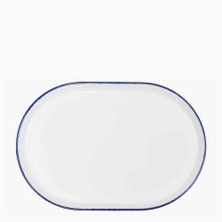 CORAL BLUE Półmisek 34x23 cm