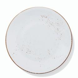 QUALITAT COLORS WHITE Talerz płaski 28 cm