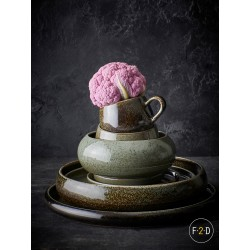 F2D CURVO FOREST Porcelana gastronomiczna