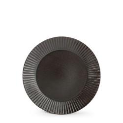 F2D AURORA BLACK Talerz płaski 19,5 cm