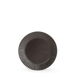 F2D AURORA BLACK Talerz płaski 13 cm