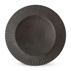 F2D AURORA BLACK Talerz płaski 30 cm